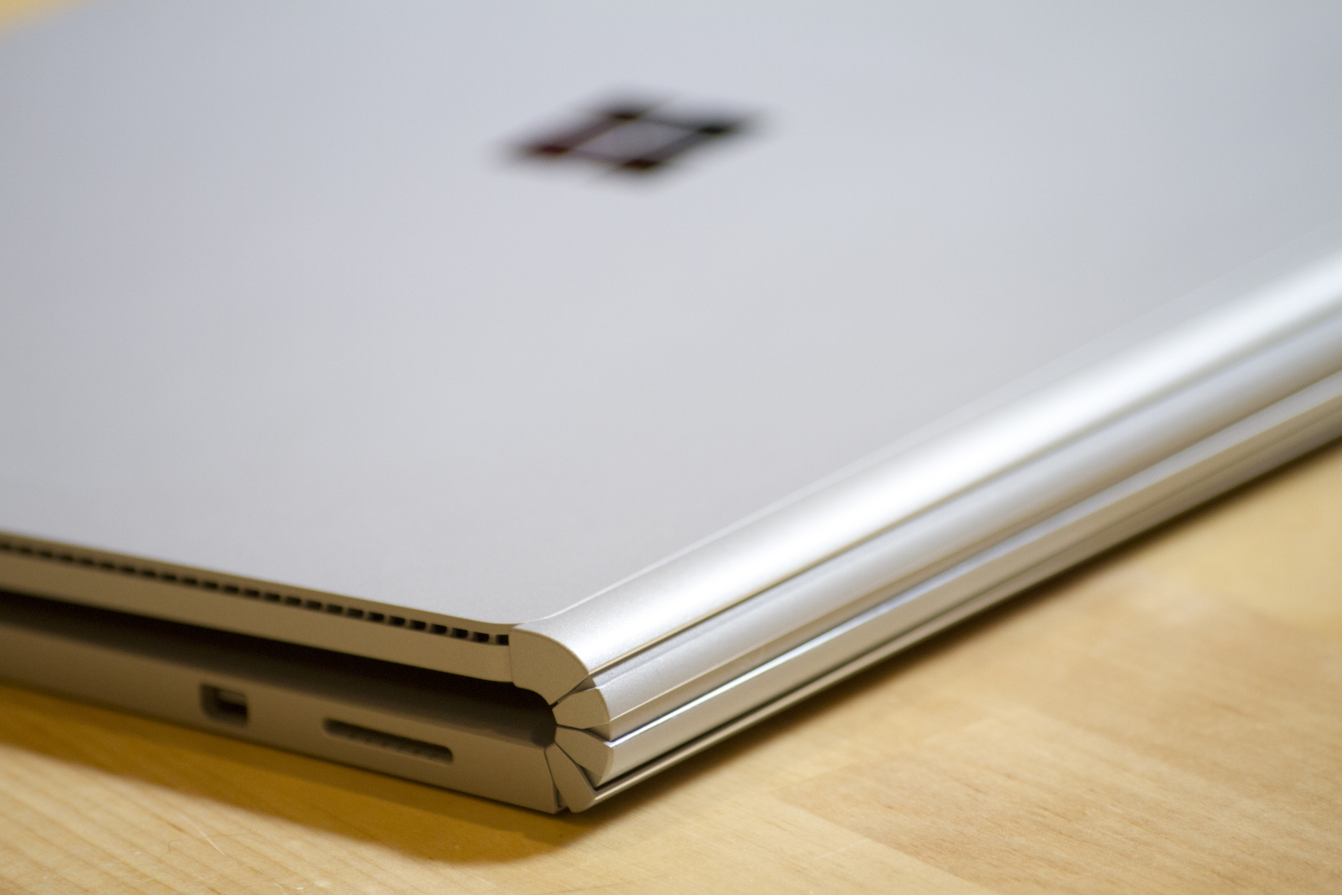 The Surface Book has a novel hinge.