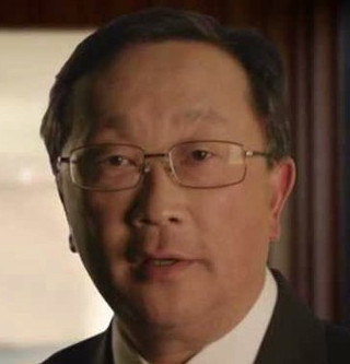 Blackberry chief John Chen.