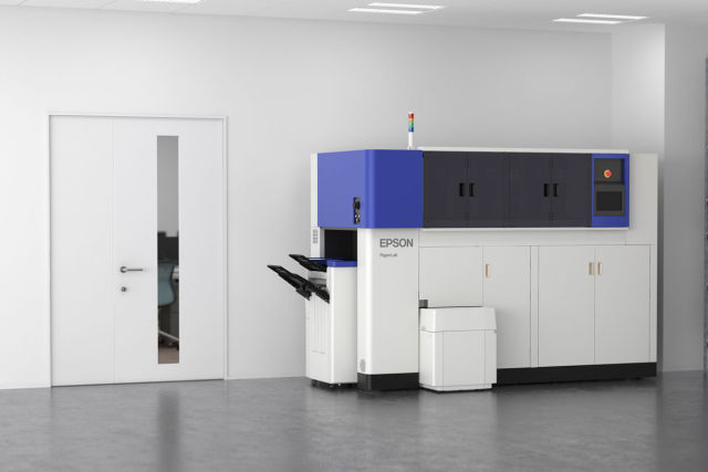 Epson unveils world's first in-office paper recycling system