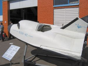 A 1:2 scale mockup of the BOR-4 (Wikimedia).