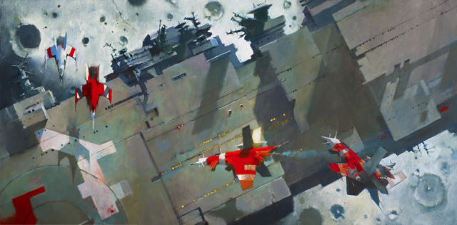 Detail from the Ancillary Justice cover.