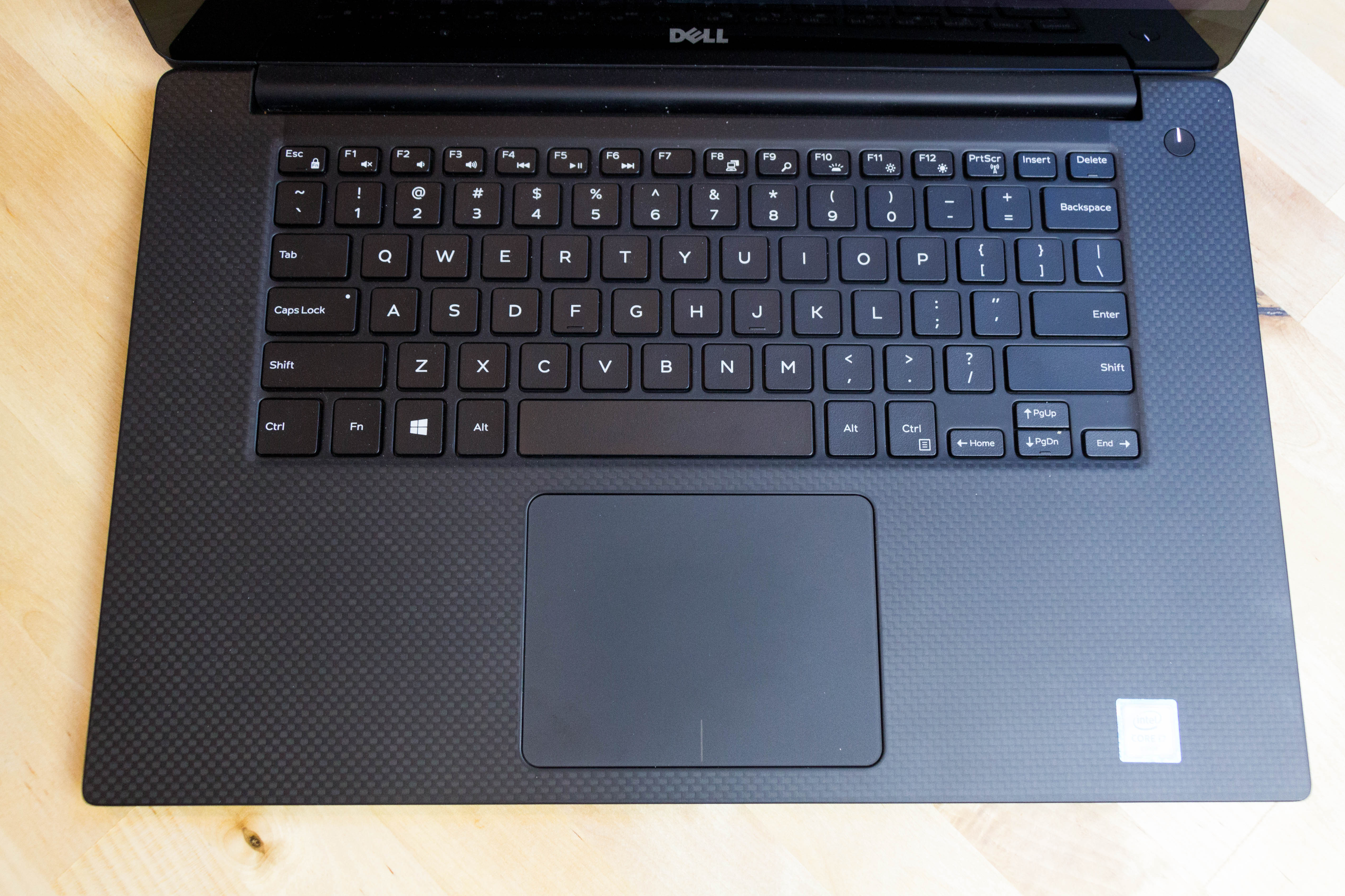 The keyboard and touchpad seem to be unaltered from the XPS 13, and that's a good thing, as they're both great.