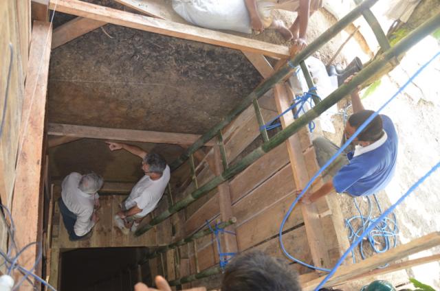 Talepu Excavation 4 in Sulawesi, Indonesia, 2012.