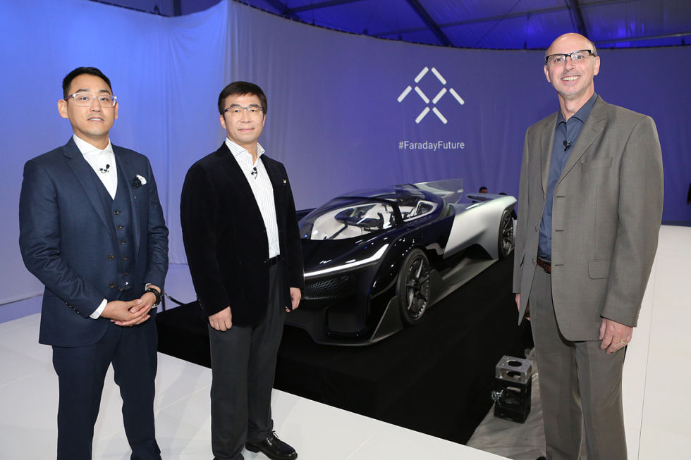 Ars talks car design with Faraday Future at CES