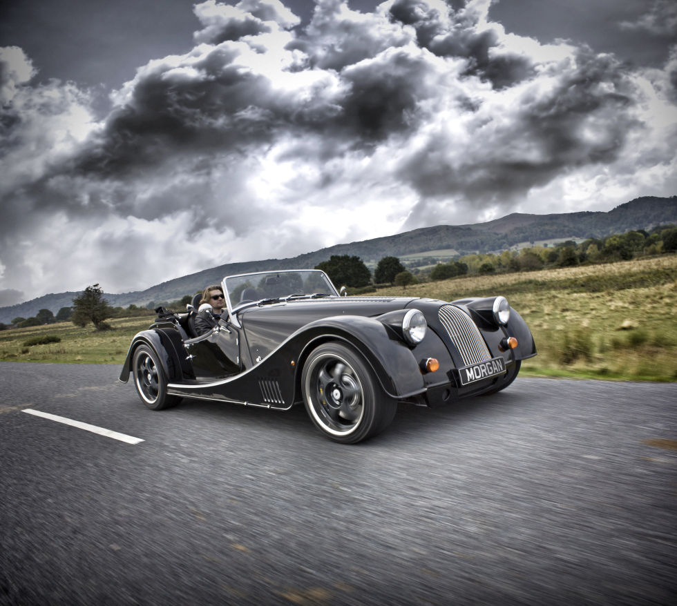 morgan maker of classic sports cars is going electric ars technica uk. Black Bedroom Furniture Sets. Home Design Ideas