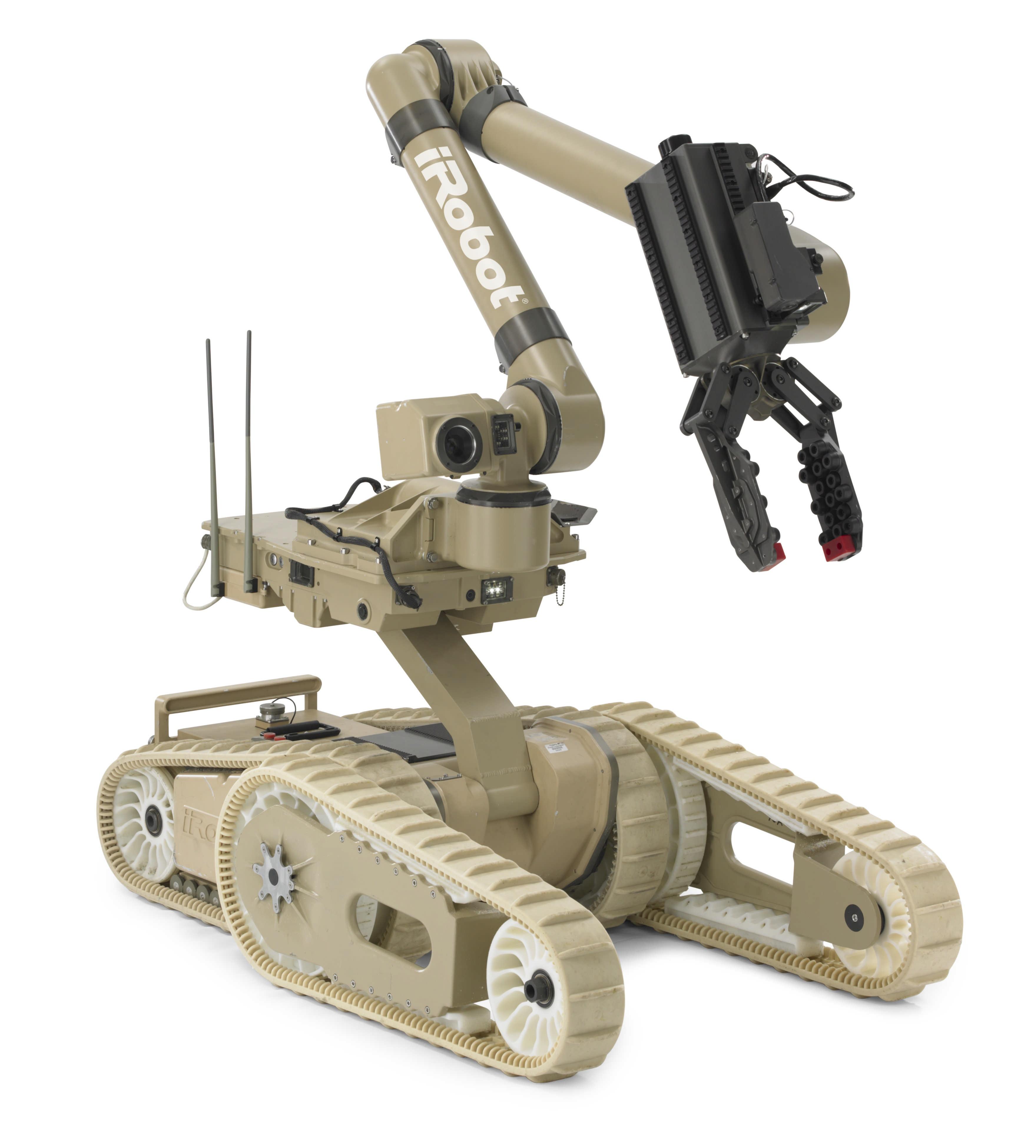 iRobot sells off military unit, will focus on friendlier consumer robots