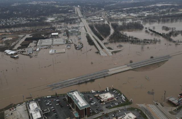 Recent St Louis flooding made worse by human changes to ...