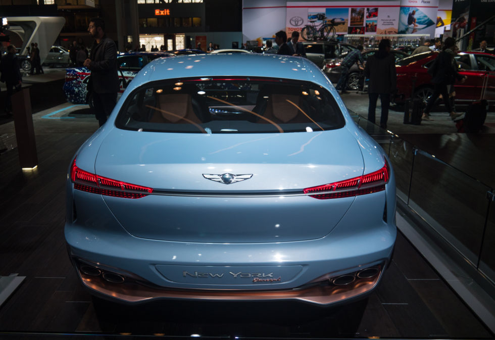 Popular Hyundai Wows New York With Genesis New York Concept
