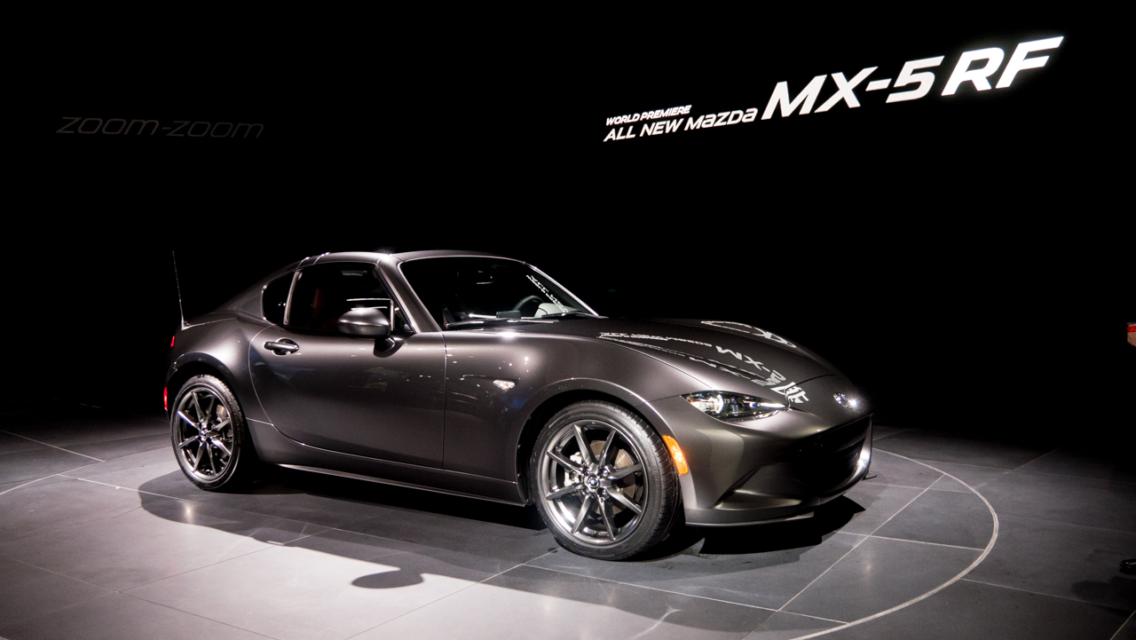 Mazda Morphs The Miata Meet The Mx 5 Rf Ars Technica