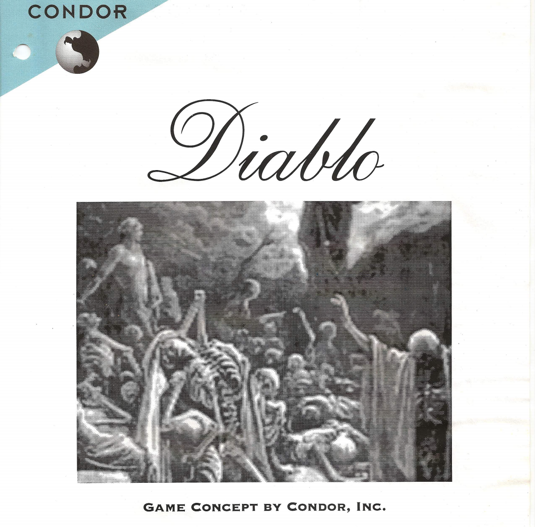 <em>Diablo</em>'s original pitch document.