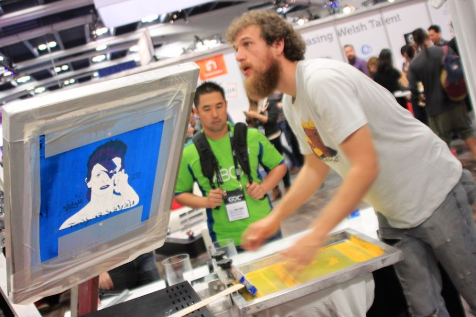 At Gdc A Show Floor Littered With Vr And Pr Gimmicks