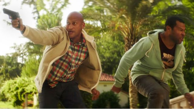 Clarence and Rell actually do become action heroes.