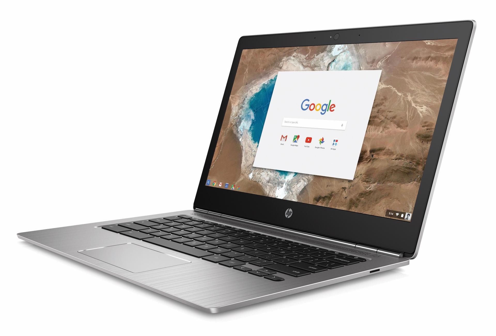 HP's thin new Chromebook 13