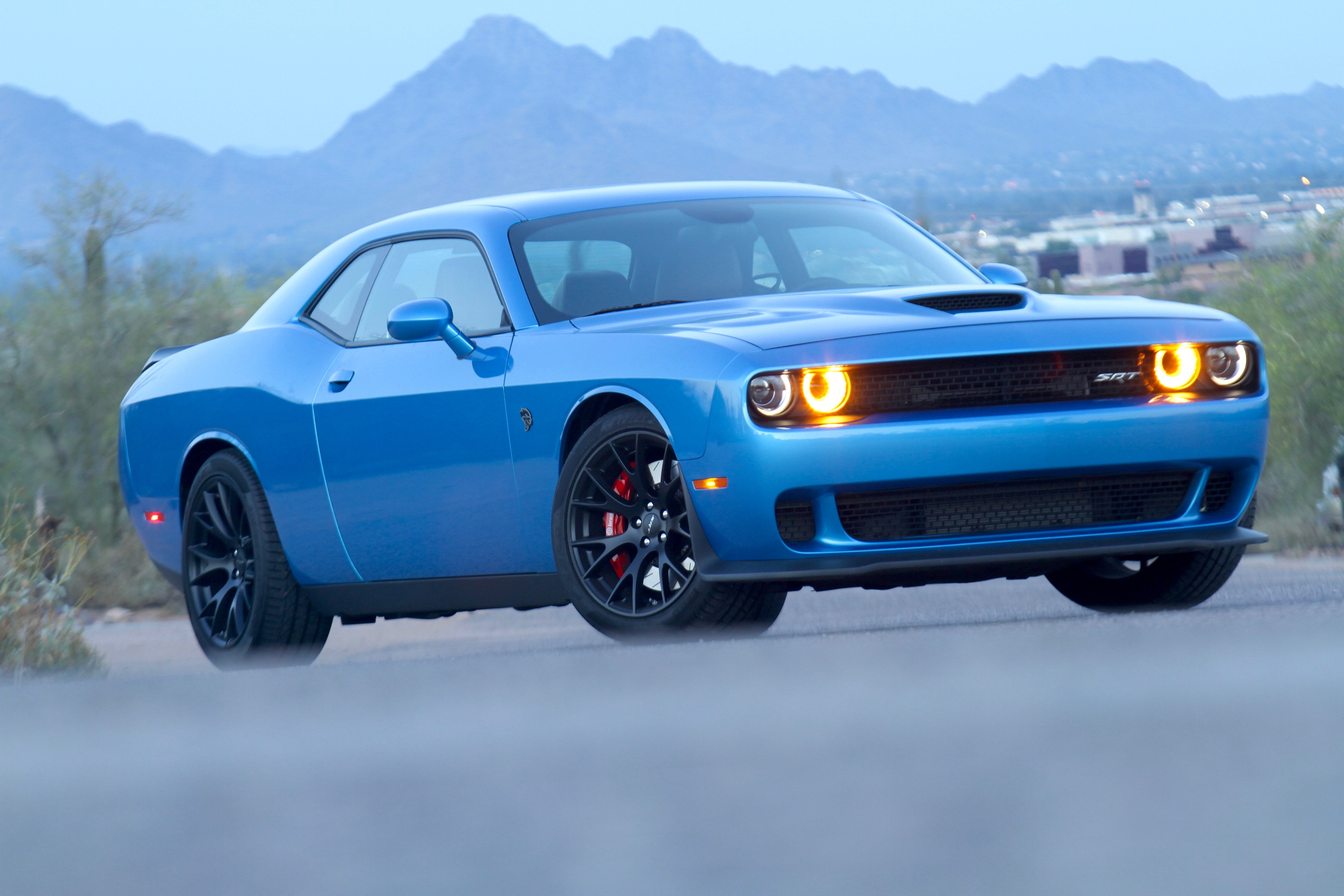 Review: The Dodge Hellcat outmuscles the Mustang and ...