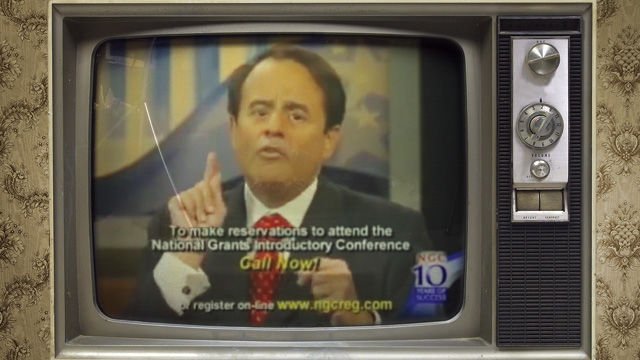 Mike Milin appearing in one of NGC's infomercials.