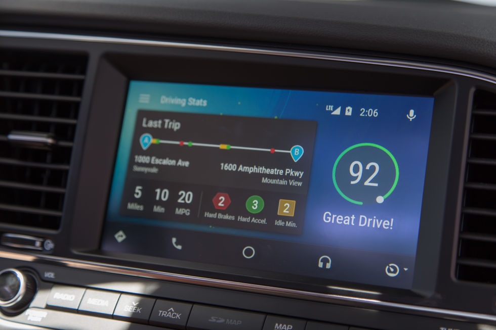 android auto gets waze a standalone app hotword support and wi fi projection ars technica. Black Bedroom Furniture Sets. Home Design Ideas