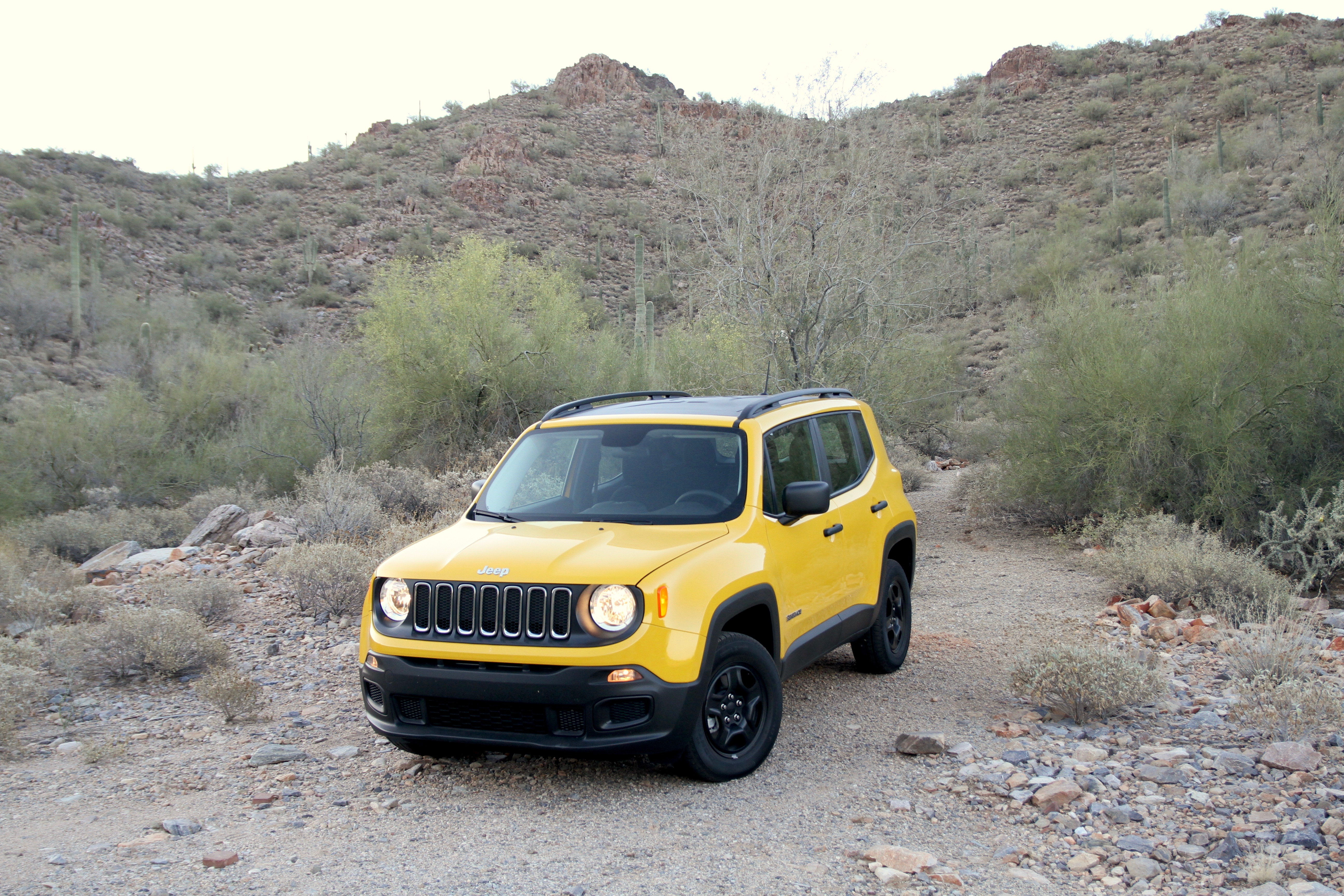 More than a box on wheels: the Italian-built Renegade Sport offers an affordable, versatile, and cheeky variation on the strong Jeep theme.