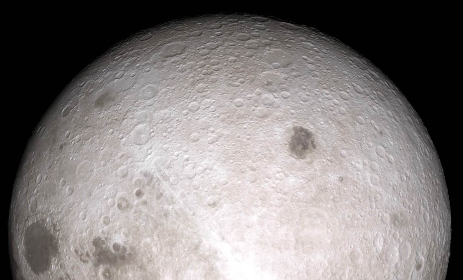 The best-ever image of the far side of the Moon.