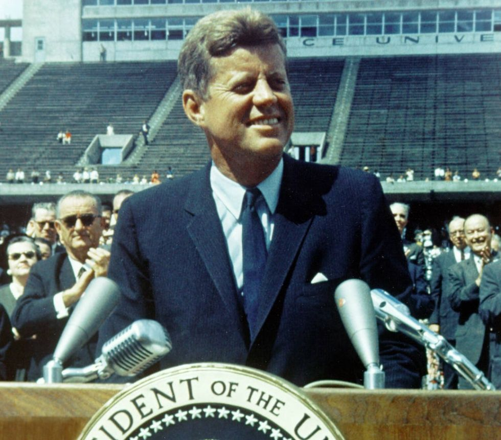 analysis of jfks inaugural address in 1961 In this lesson we will learn about president john f kennedy's inaugural address we will explore the historical context in which the address took.