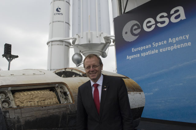 In absence of NASA leadership, the European Space Agency's Johann-Dietrich Wörner has emerged as a leading voice for developing a lunar colony.
