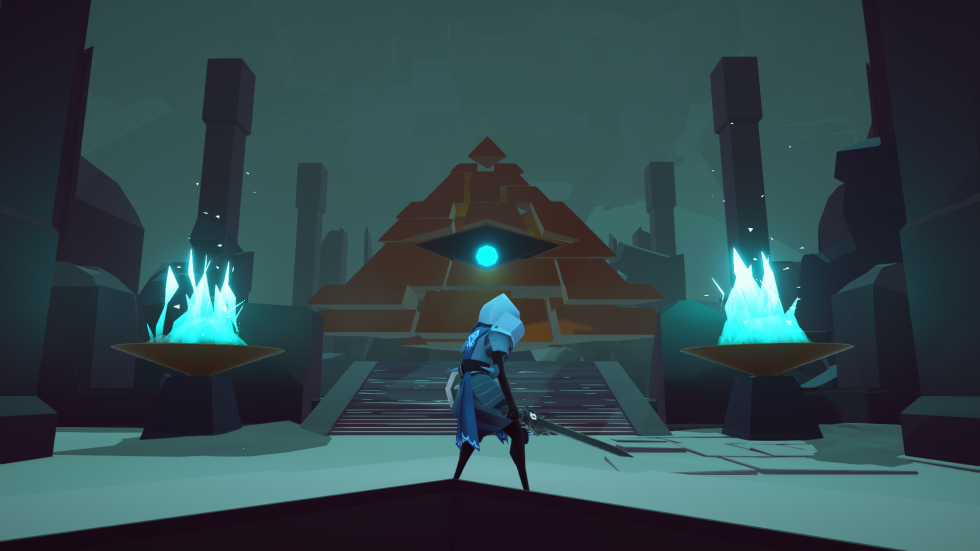 This big-eyed pyramid dude watches over your progress in the Necropolis and doles out sarcastic commentary after you complete every level. He also gives you perks on occasion.