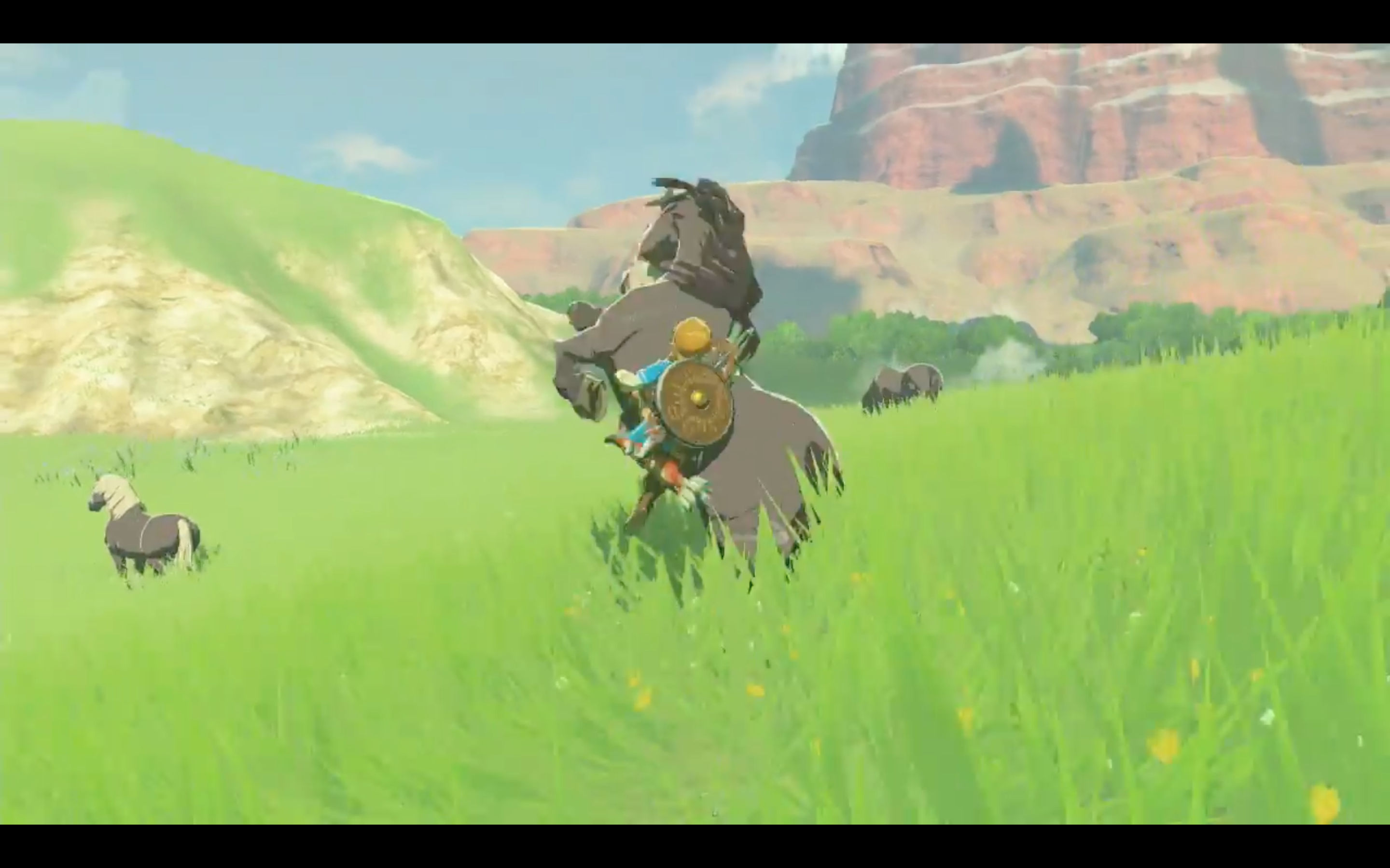 Get that horse, Link. That's your horse, now.