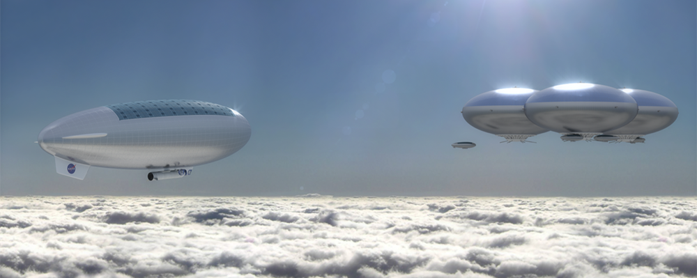 Would you live in the clouds above Venus?