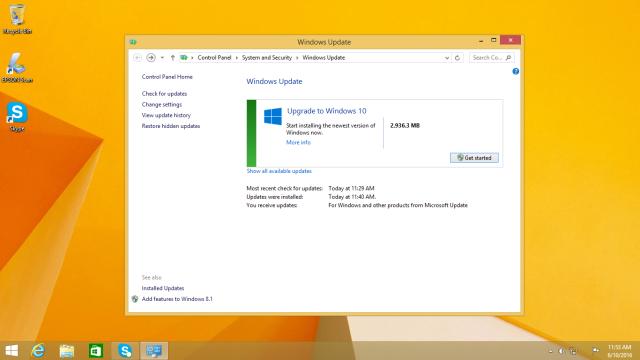 windows 7 to windows 10 upgrade cost