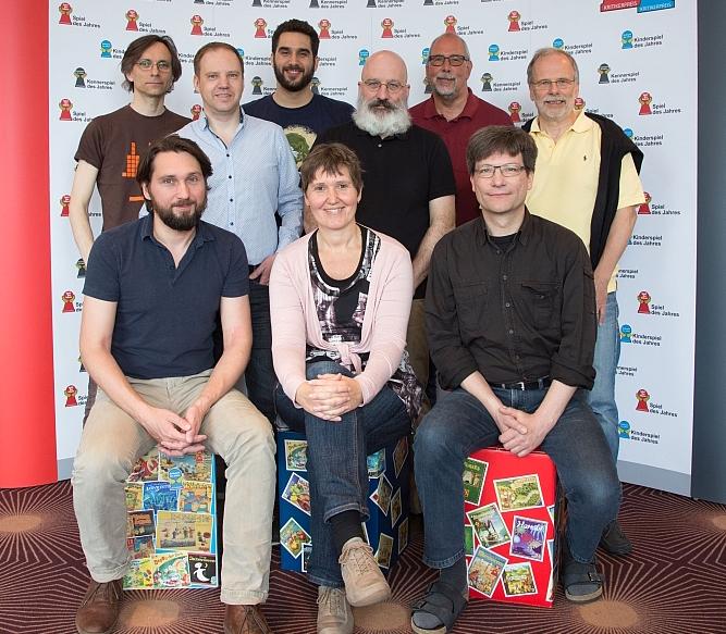 The 2016 Spiel des Jahres jury.