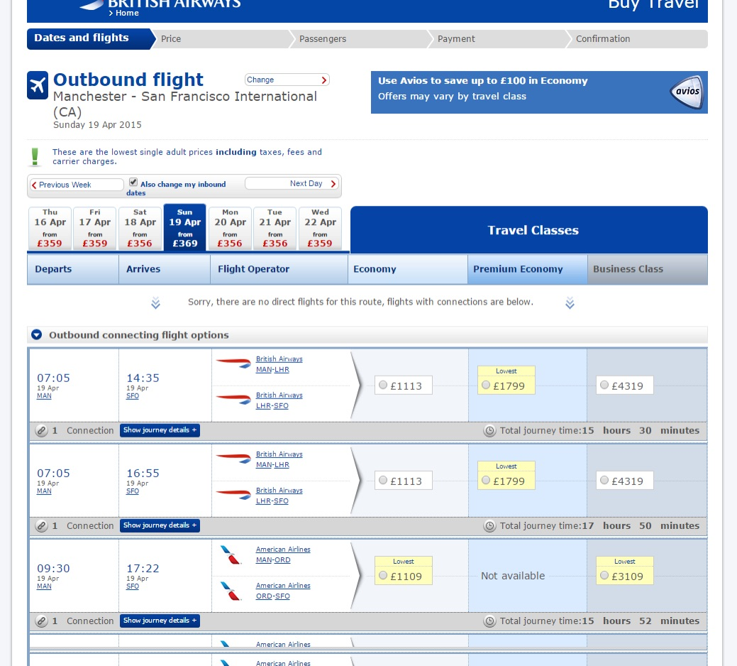 The lowest flight prices are listed up top, right? Right??!