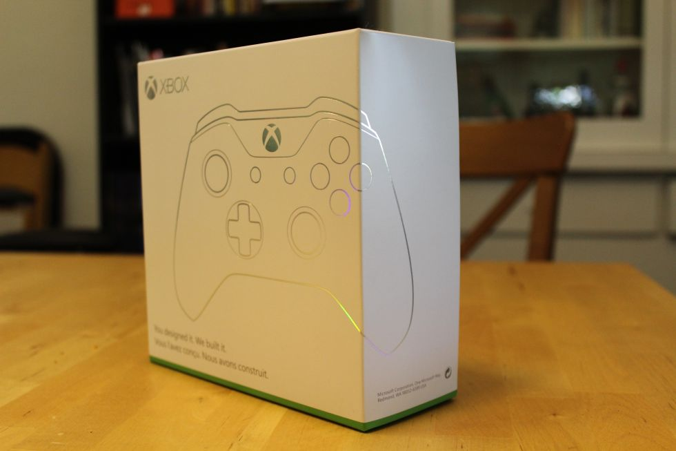 Hello, Xbox Design Lab box!