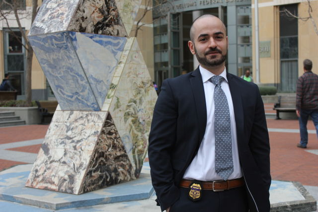 IRS Special Agent Tigran Gambaryan was based in Oakland, California, until he was transferred to Washington, DC in August 2015.