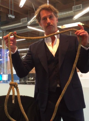 BamBrogan with the alleged noose.