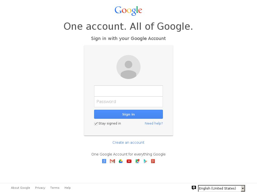 The fake Google login page associated with the Bit.ly links used in the phishing campaign SecureWorks tracked.