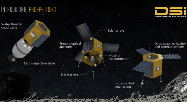 First interplanetary miner plans to 'live off' asteroids in space