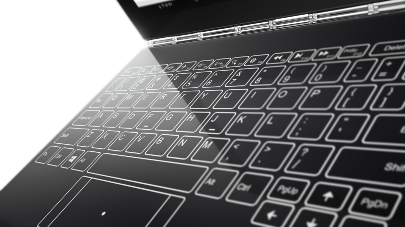 Lenovo's new Yoga Book is a 360 degree laptop without the keyboard
