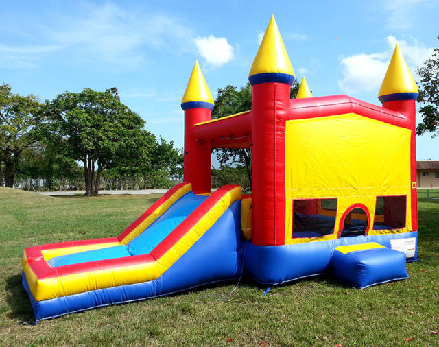 Bouncy Houses Are Actually Bubbles Of Dangerous Megahot
