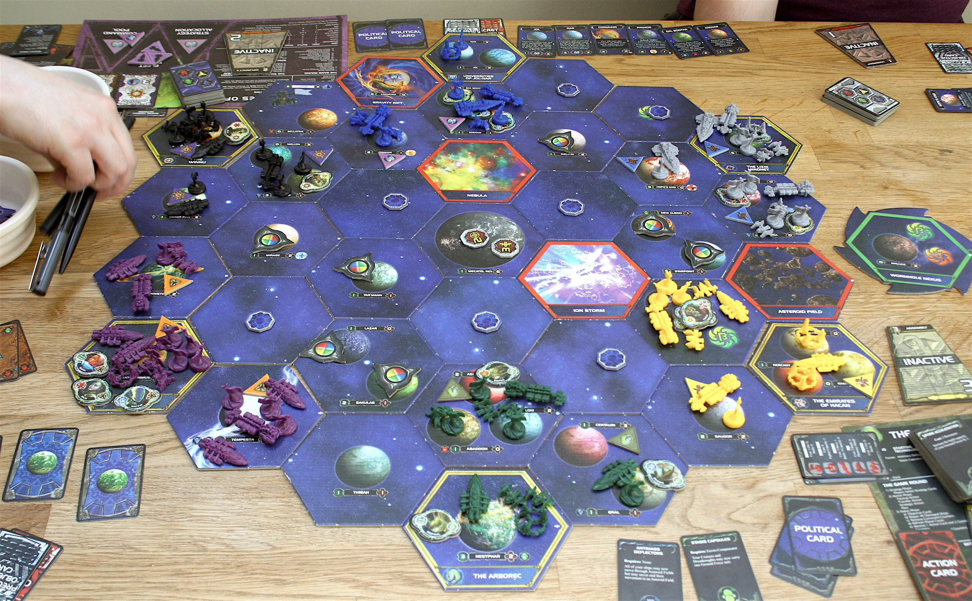 How long will it take to conquer these hexes?