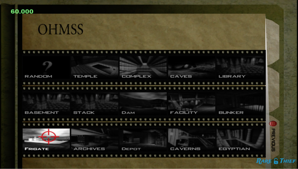 That's a lot more levels for <em>GoldenEye 007</em>'s multiplayer mode!