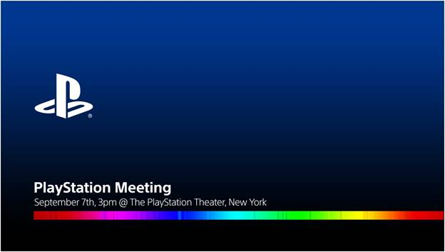 PlayStation Meeting Event Will Be Livestreamed, Sony Confirms