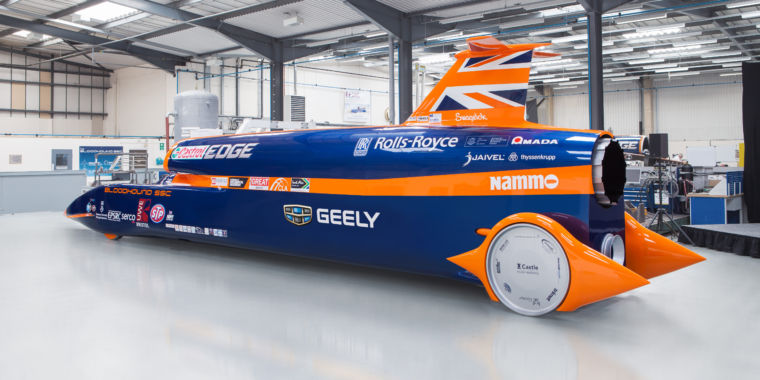 1 000mph Car Gets Major Funding Boost Ars Technica