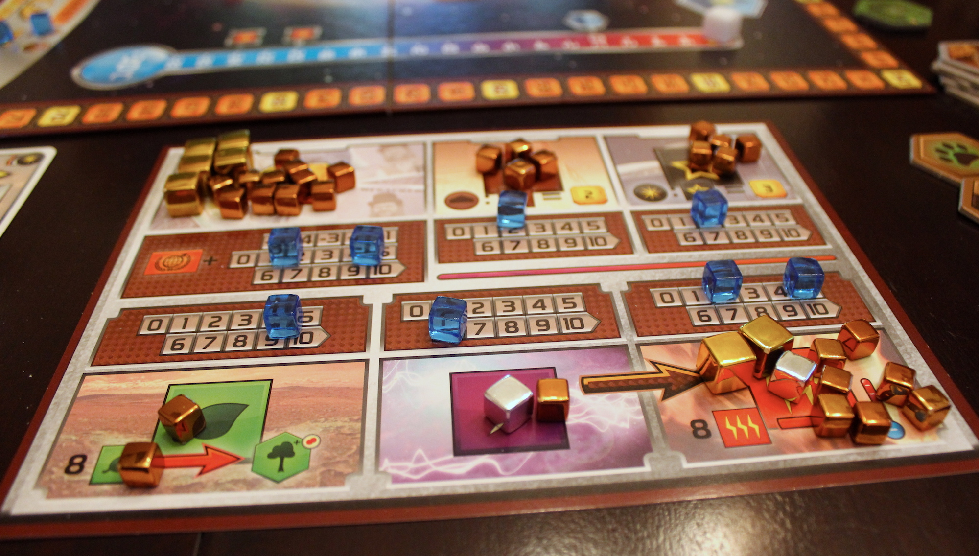 Terraforming Mars Review Turn The Red Planet Green And