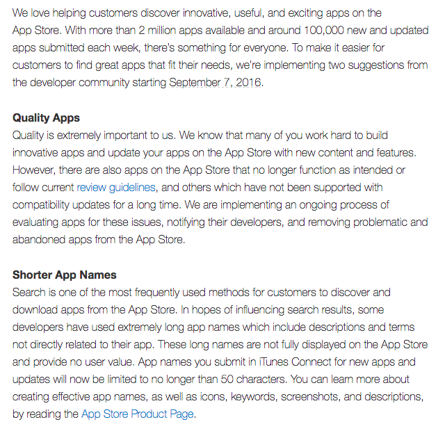 Apple's biggest changes to the App Review guidelines.