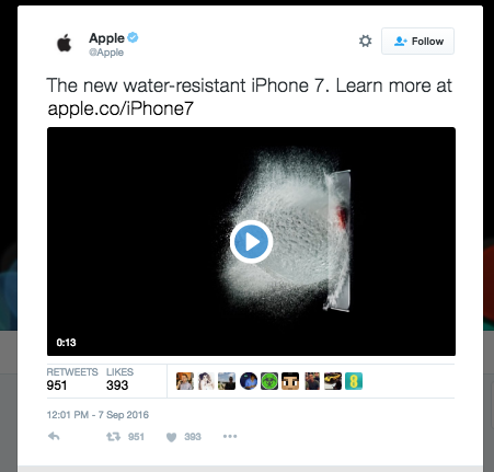 Whoops, this tweet seemed to mysteriously disappear after today's Apple event got rolling.