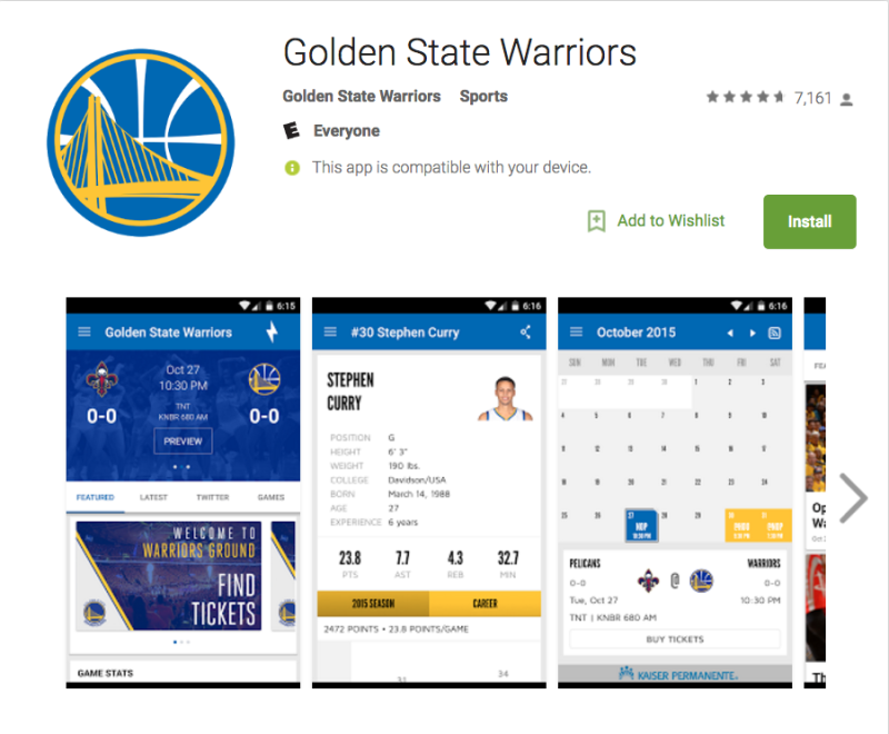 Class action lawsuit claims Warriors' official app covertly listened to users
