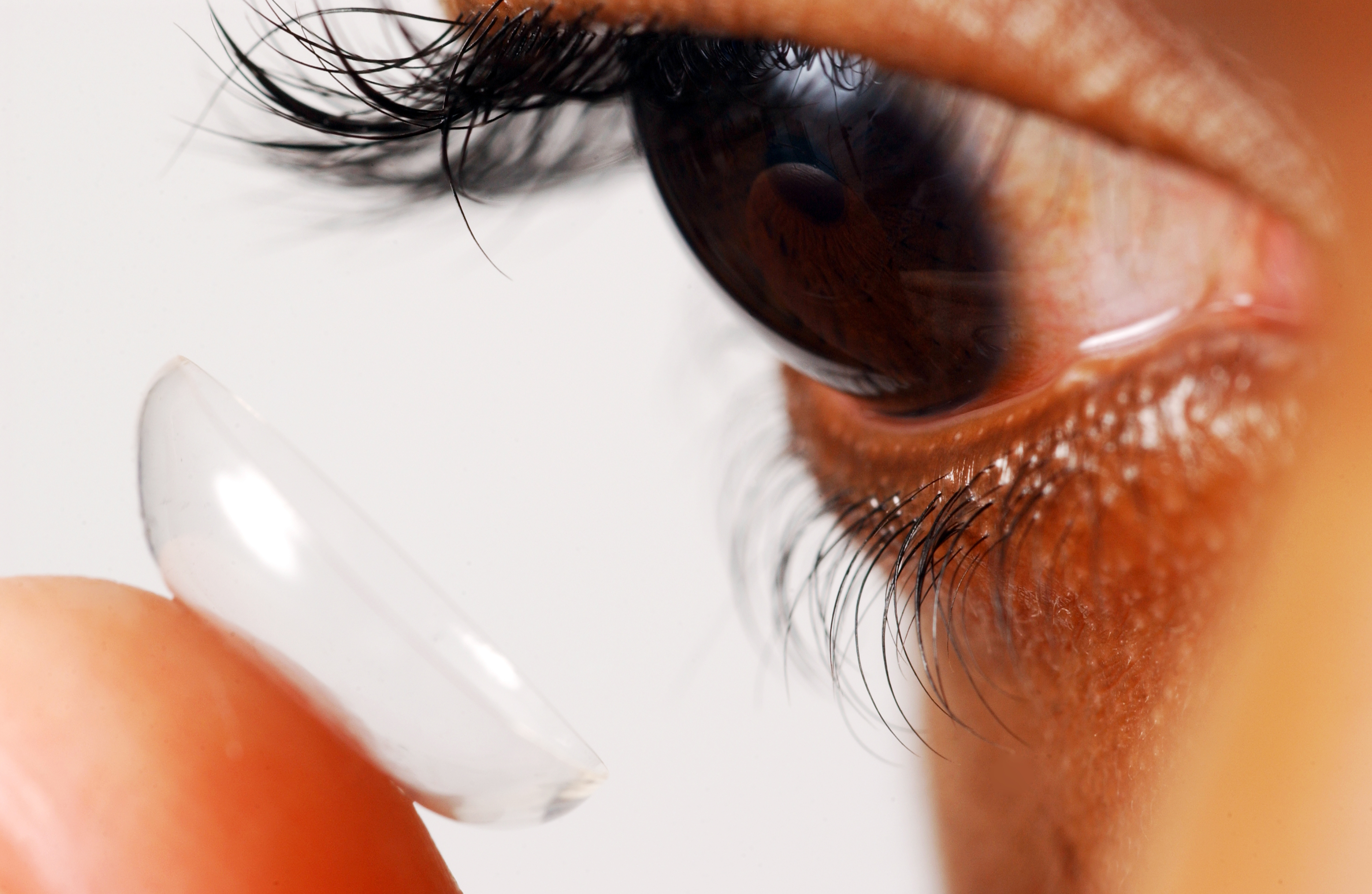 Doctors removed 27 contact lenses from a womans eye advise