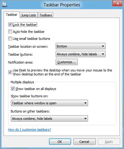 Built-in multimonitor taskbar support at last