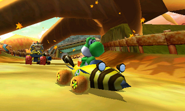 <em>Mario Kart 7</em>'s idea of customizable racecars is slightly different than, say, <em>Gran Turismo</em>'s.