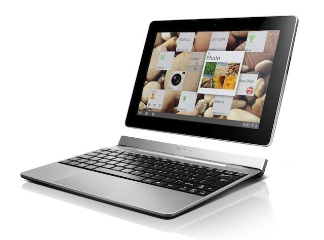 The Lenovo IdeaTab S2 and its dock