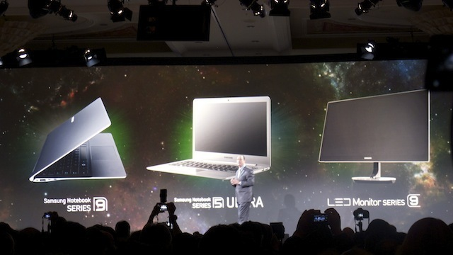 Samsung's new computers and a new LED monitor.